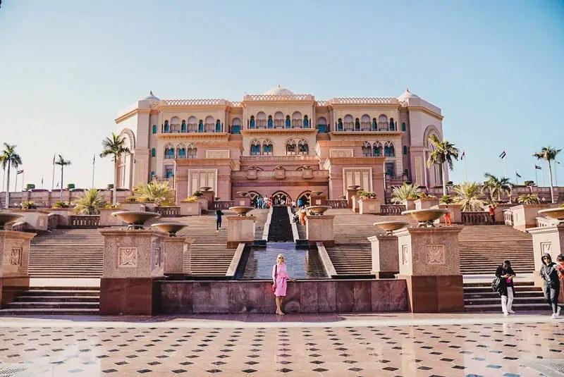 Emirates Palace - Abu Dhabi Reisgids