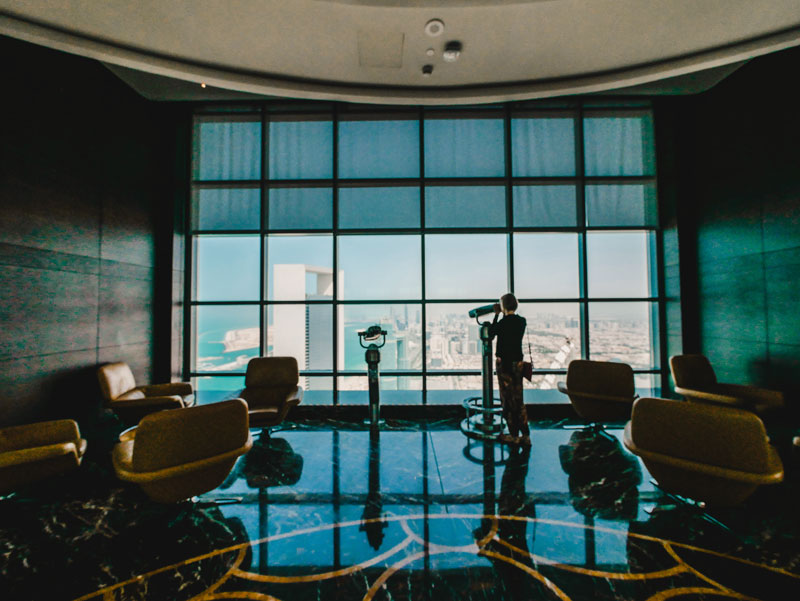 Observatiob Deck at 300 Etihad Towers – Abu Dhabi Reiseführer