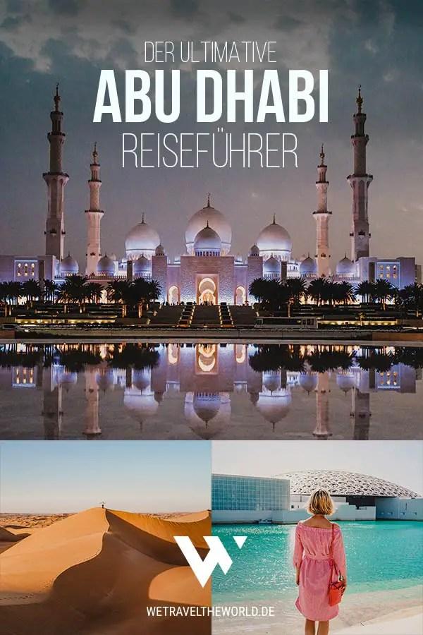 Abu Dhabi Reiseführer Online – Sehenswertes, Highlights & Reisetipps #dubai #reisetipps #emirate reiseziele