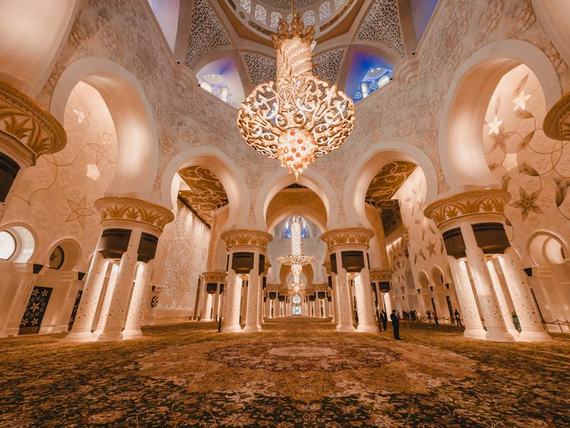 Sheikh Zayed Mosque - Abu Dhabi Reisgids