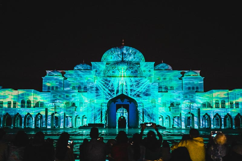 Qasr Al Watan Lichtshow