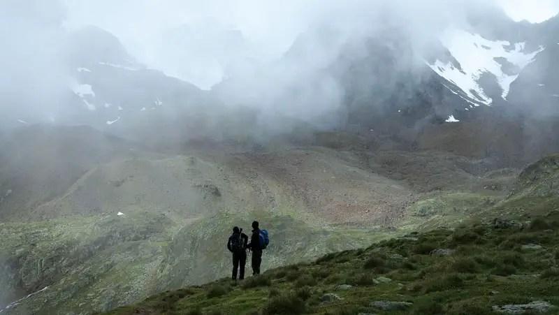 Landschaft Alpenüberquerung