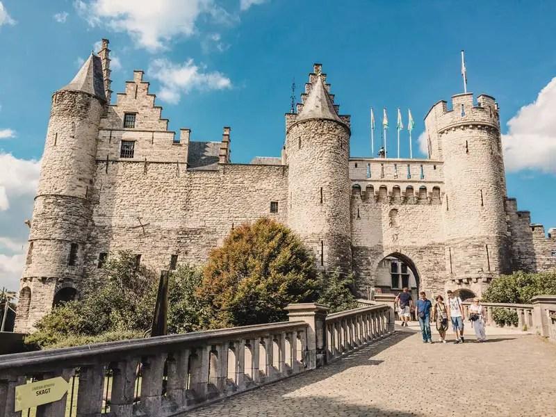 Steen Castle - Attracties in Antwerpen