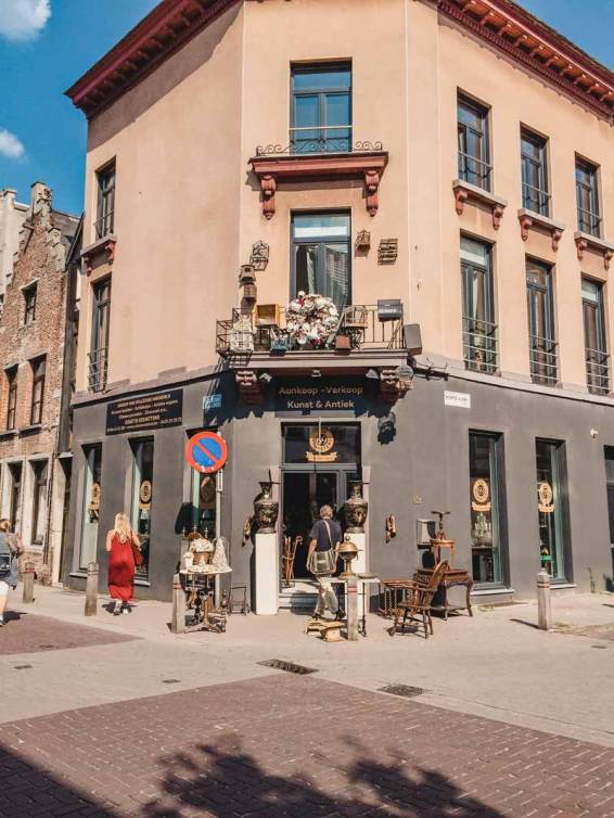 Kloosterstraat – Antwerpen Sehenswürdigkeiten