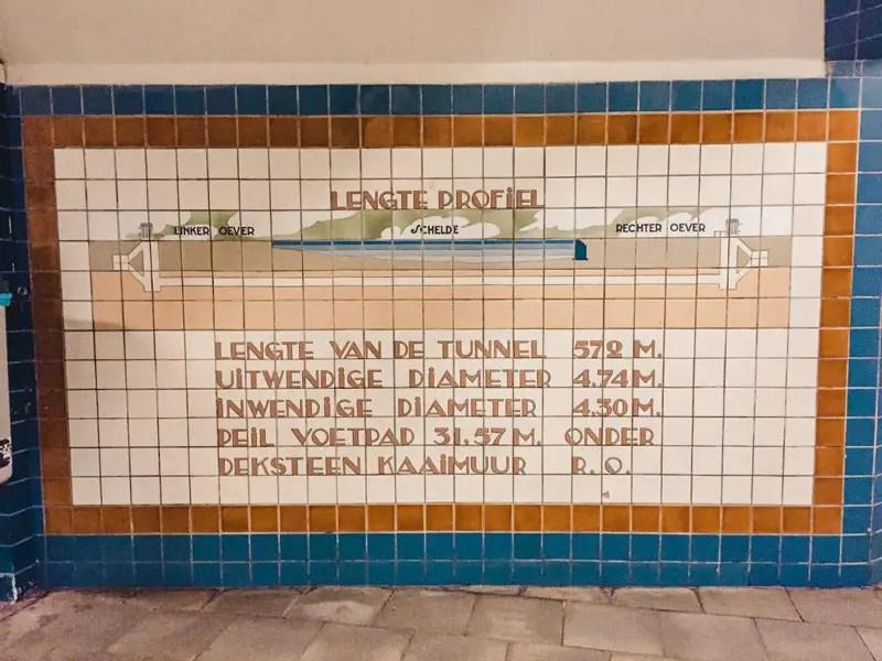 Sint Annatunnel – Antwerpen Sehenswürdigkeiten