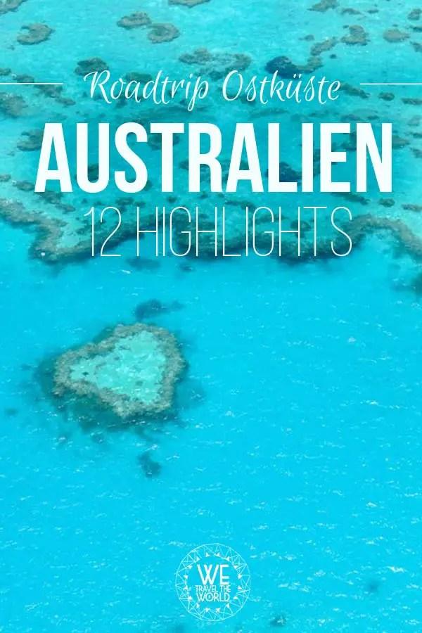 Australien Reise: Die 12 schönsten Highlights entlang Australiens Ostküste #reisetipps #australien #roadtrip