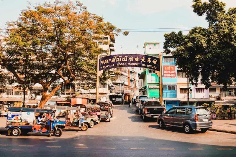 Bangkok Sehenswürdigkeiten Bobae Market