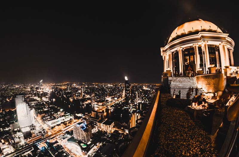 Bangkok Sehenswürdigkeiten Sirocco Skybar