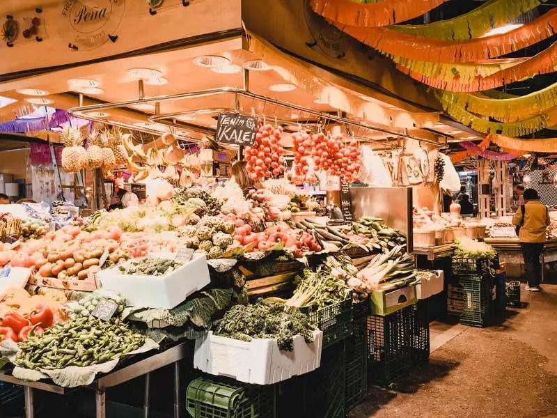 Barcelona Highlights Markt