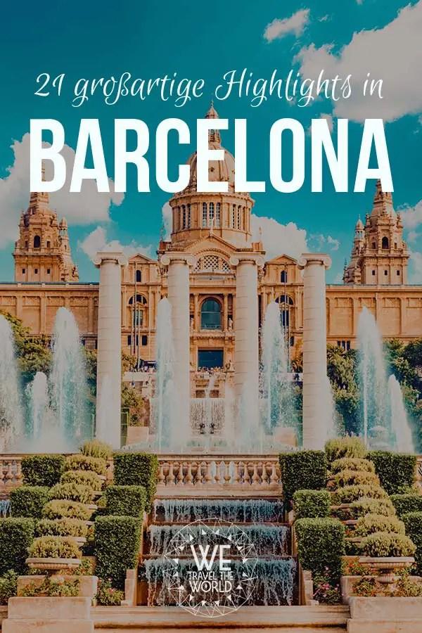 Barcelona Highlights: 21 großartige Highlights in Barcelona