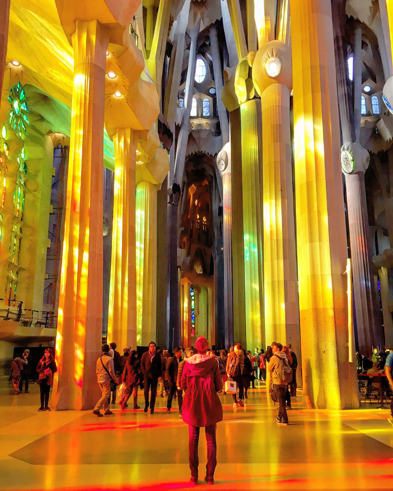 Sagrada Familia Lichtspiel