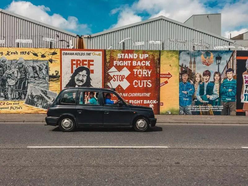 Black Taxi Tour - Attracties in Belfast