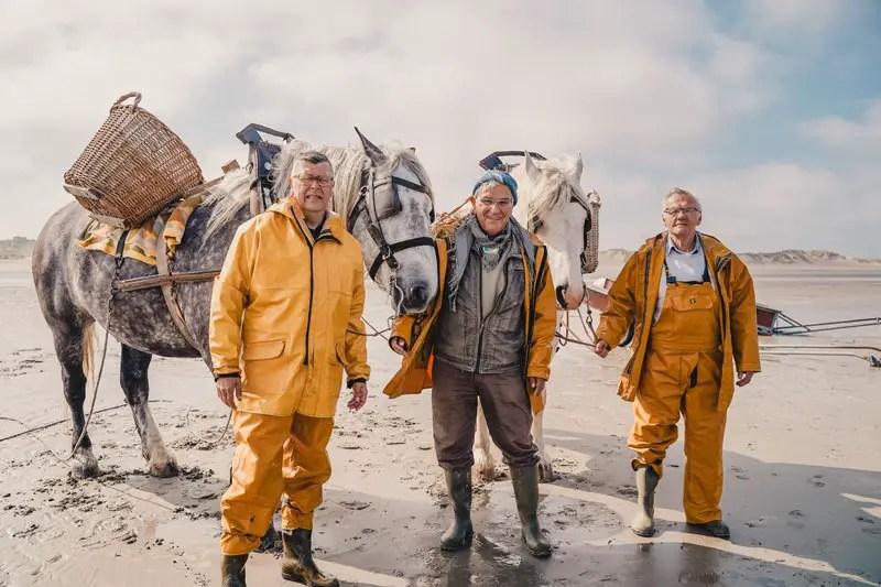 Krabbenfischer Ostduinkerke – Belgische Küste Sehenswürdigkeiten