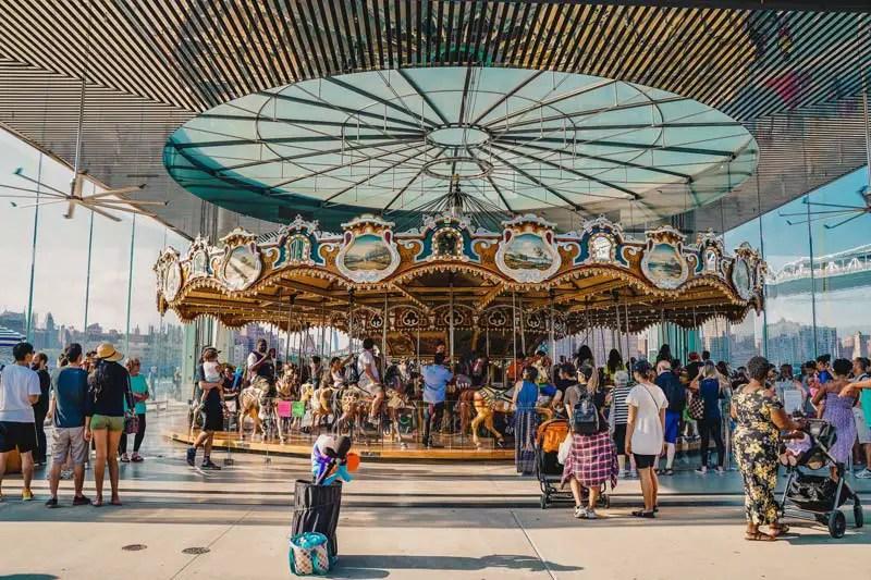 Jane's Carrousel - Brooklyn Attracties