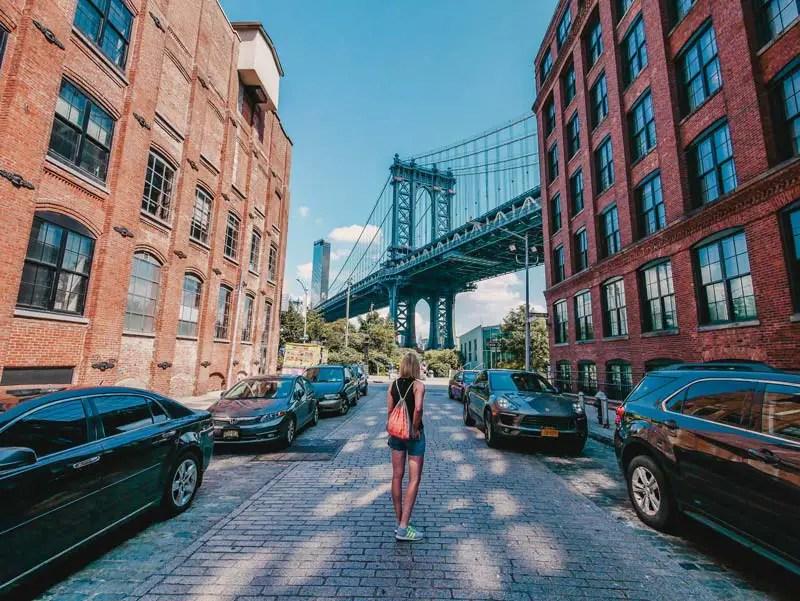 Dumbo Instagram Spot – Brooklyn Sehenswürdigkeiten