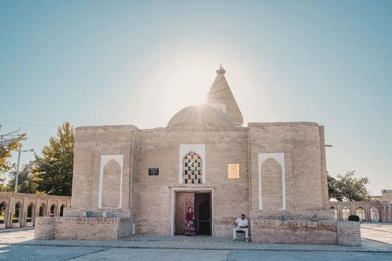 Buchara Sehenswuerdigkeiten Chashmai Ayub-Mausoleum