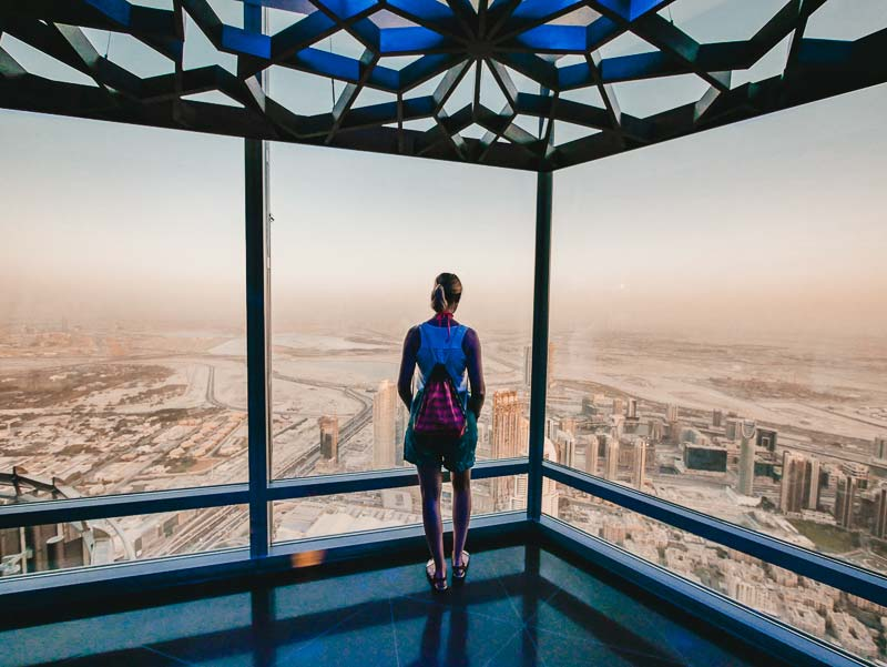 Burj Khalifa Sonnenuntergang