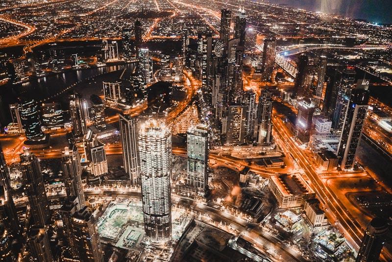 Burj Khalifa Nacht