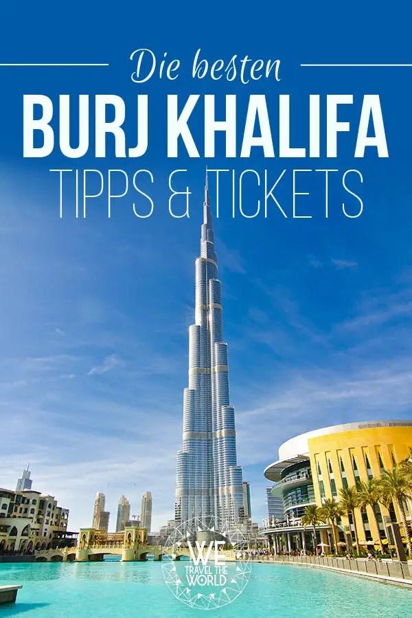 Burj Khalifa Tipps: Die besten Tipps & Tickets für die schönste Burj Khalifa Aussicht #dubai #reisetipps Bild: shutterstock - https://shutr.bz/2EA1GZu