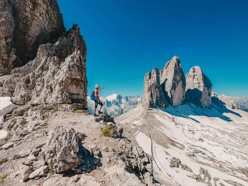 Three Peaks Via Ferrata Paternkofel Innerkoflersteig