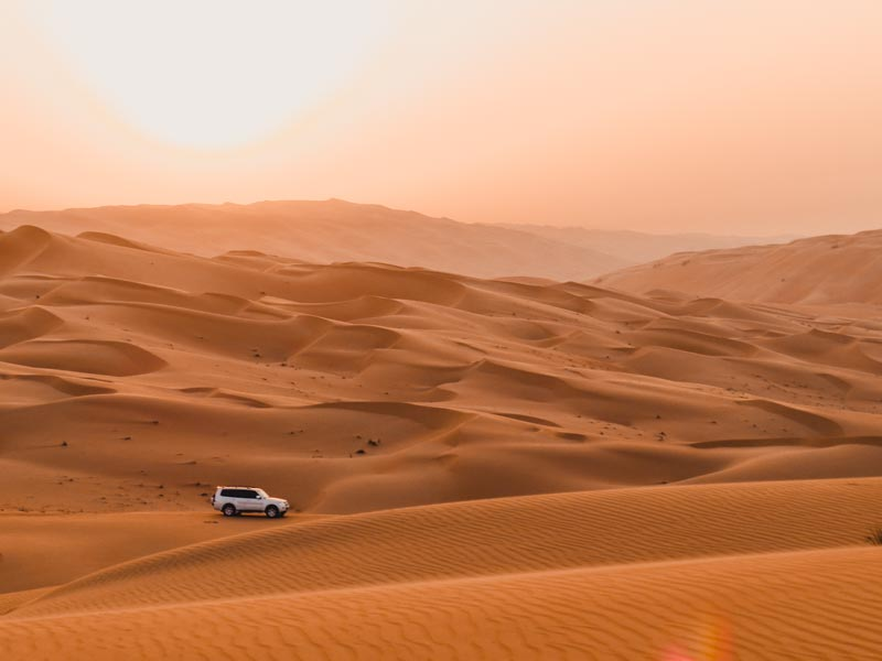 Dubai Aktivitäten Ausflüge Wüsten Safari