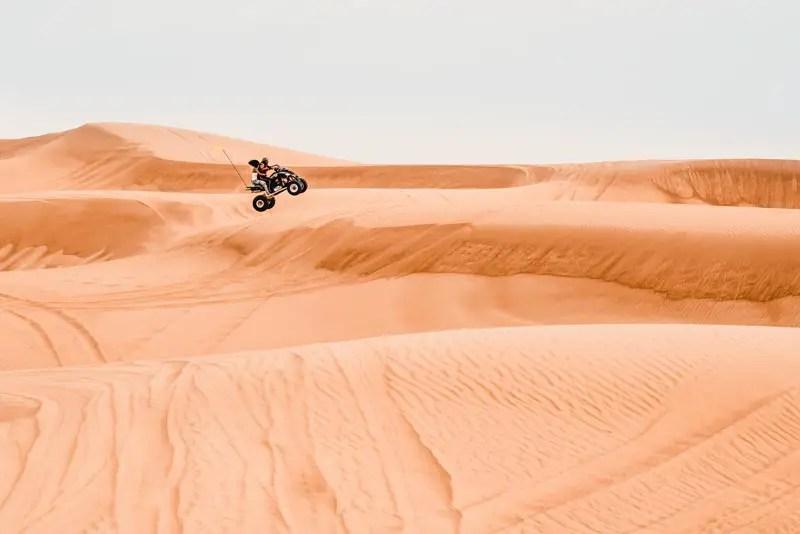 Dubai Aktivitäten Ausflüge quad bike