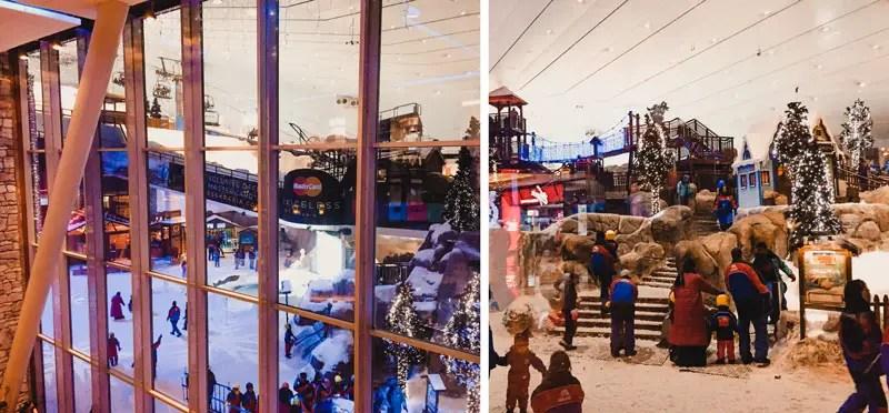 Dubai Aktivitäten Ausflüge Ski Dubai Mall