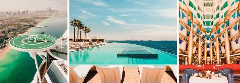 Dubai Hotels: Dubai schönste Hotels Burj al Arab