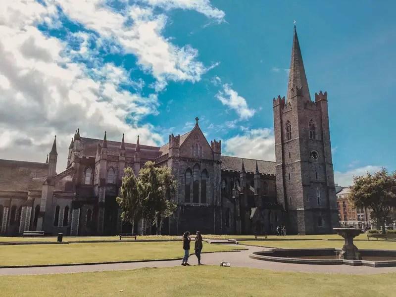 st patricks cathedral Dublin Sehenswürdigkeiten
