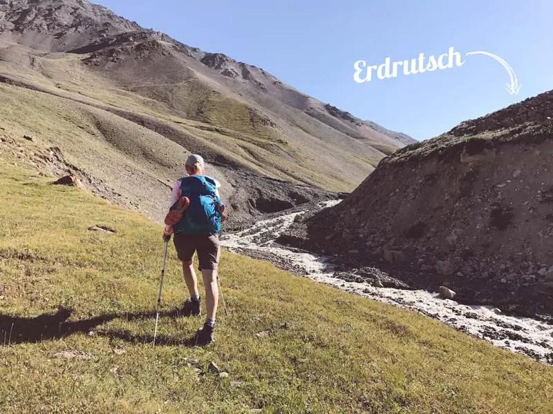 Erdrutsch Kirgistan
