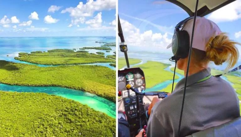 Key West Sehenswürdigkeiten Helikopter Rundflug