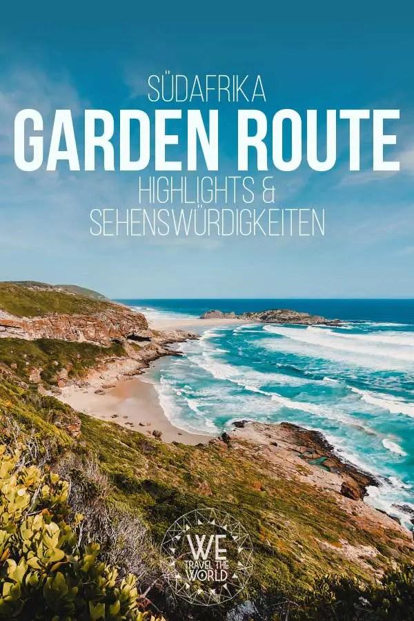 Garden Route Highlights, Sehenswürdigkeiten & Reisetipps #reiseziele #südafrika #inspiration