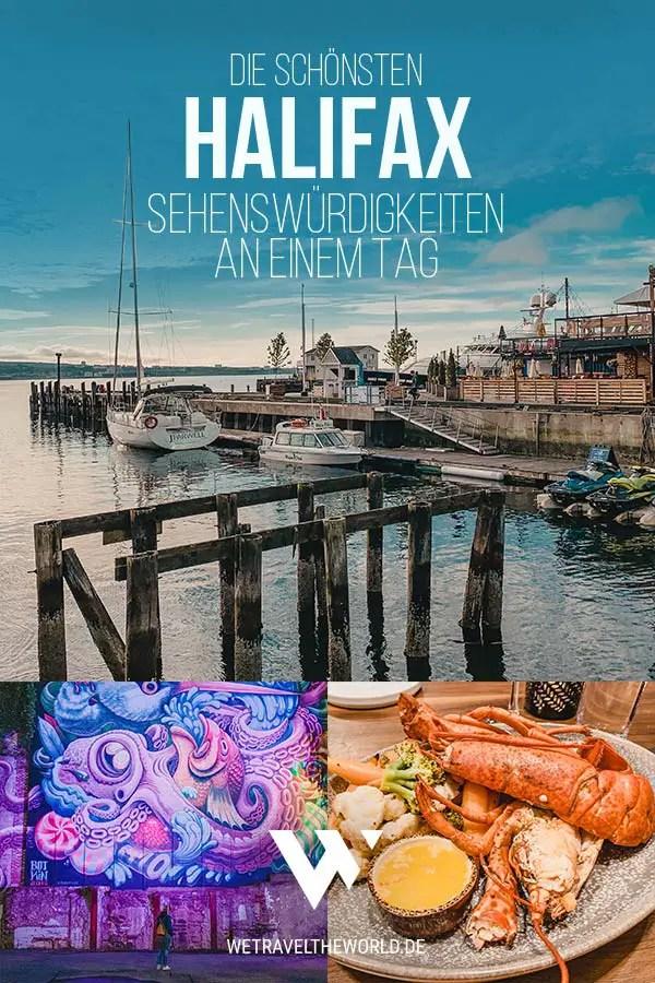 Kanada Reise: Die besten Halifax Sehenswürdigkeiten & Reisetipps an einem Tag #kanada #novascotia #reiseziele