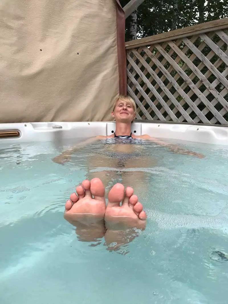 kanada hot tub