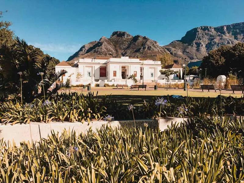 Kapstadt Sehenswürdigkeiten Companys Garden