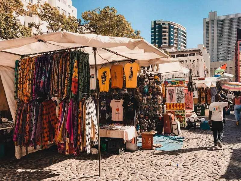 Kapstadt Sehenswürdigkeiten Green Square Market