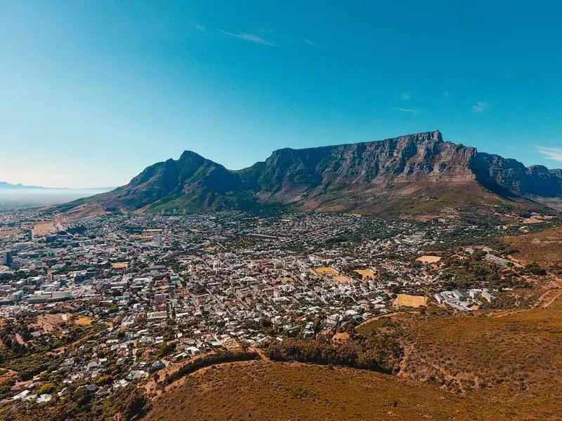 Kapstadt Sehenswürdigkeiten Tafelberg