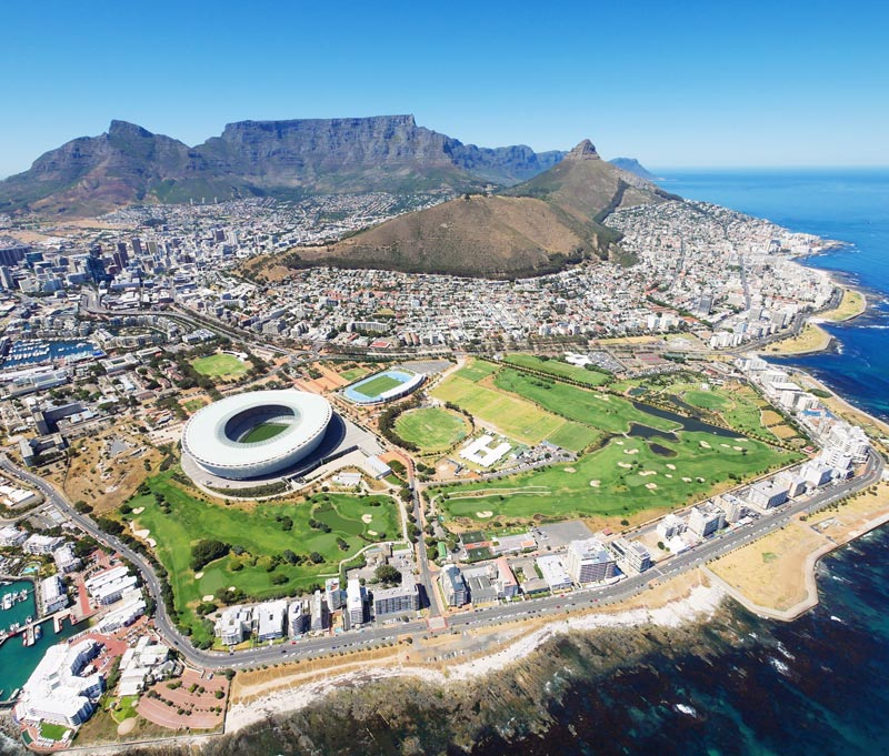 Südafrika Highlights – Helikopter Rundflug