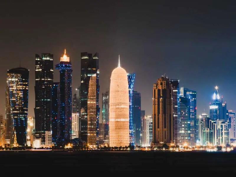 Katar in 3 Tagen – Katar Sehenswürdigkeiten – Doha bei Nacht