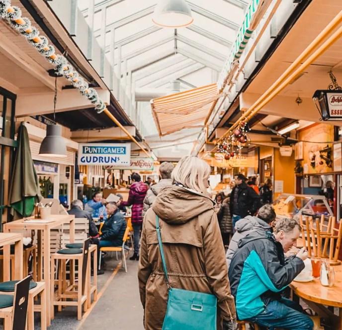 Benediktinermarkt – Klagenfurt Sehenswürdigkeiten