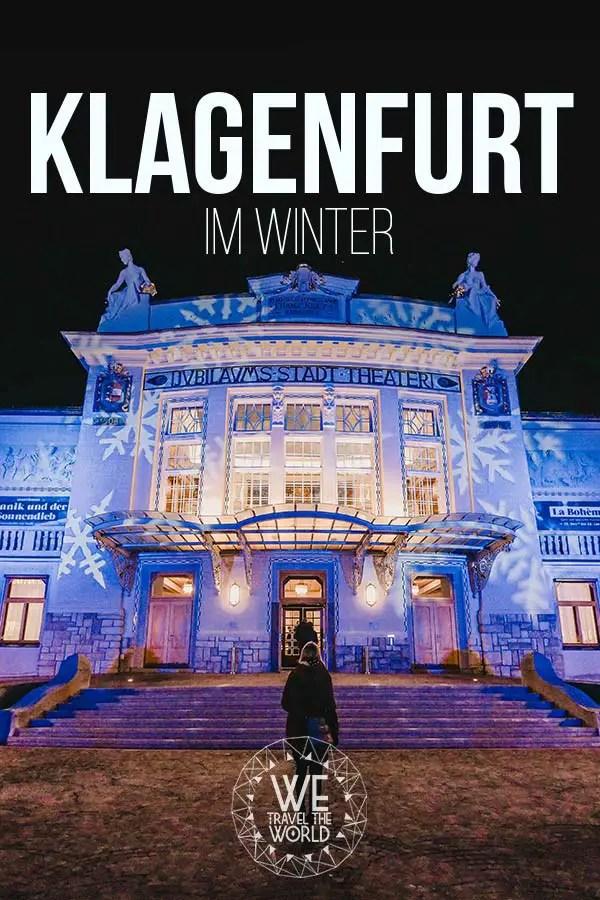 Die besten Klagenfurt Sehenswürdigkeiten im Winter #österreich #kärnten #inspiration