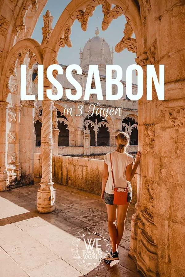 Die besten Lissabon Sehenswürdigkeiten, Highlights & Reisetipps – in 3 Tagen #reiseziele #reiseinspiration #portugal