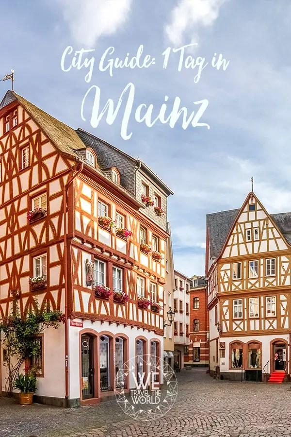 Mainz Tipps und Sehenswuerdigkeiten: Mainz an einem Tag, alles was du sehen musst #reisetipps #städtereise #reiseführer