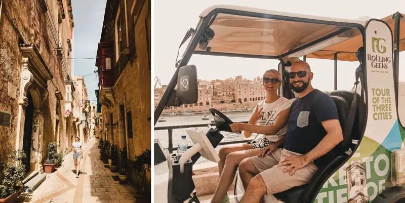 Malta Highlights Drei Städte Three Cities