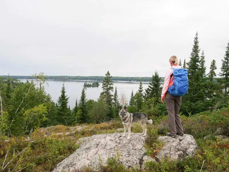 manitoba rundreise high lake-wanderung