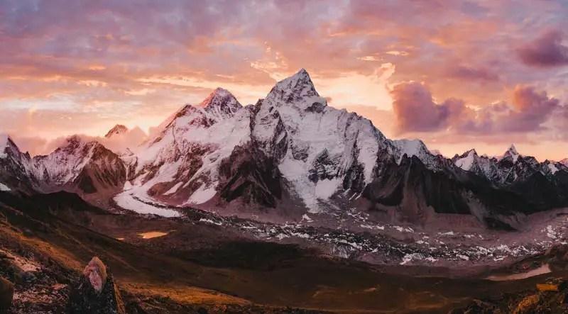 Nepal Sehenswürdigkeiten Mount Everest
