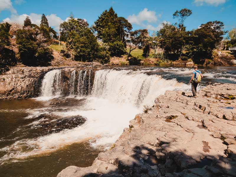 Neuseeland Nordinsel Highlights Haruru Falls
