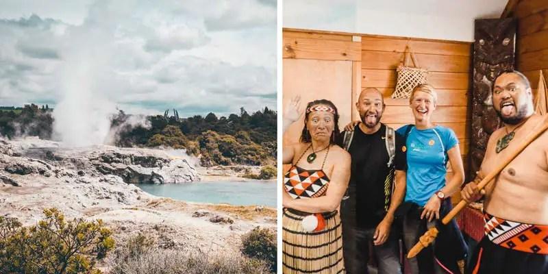 Neuseeland Nordinsel Highlights Rotorua