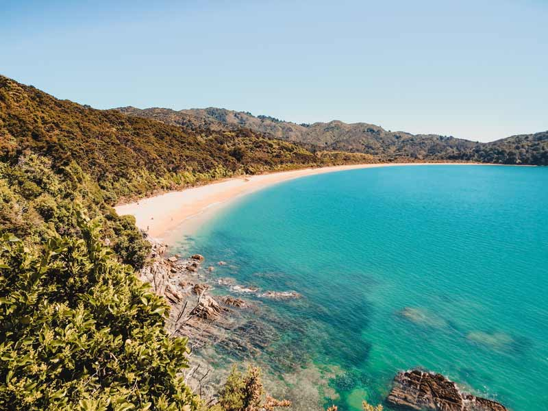 Neuseeland Wanderungen - Abel Tasman Coast Track