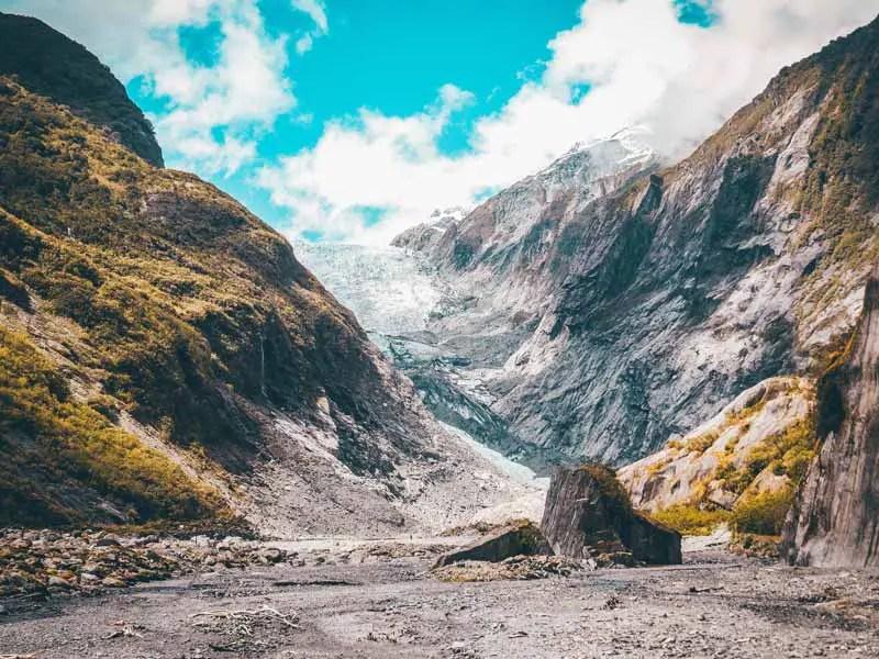 Neuseeland Südinsel Highlights Franz Josef Gletscher